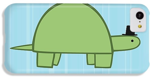 Nursery Art Boy Turtle IPhone 5c Case by Christy Beckwith