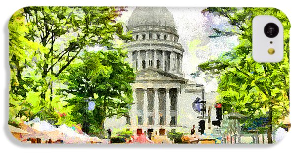 Saturday In Madison IPhone 5c Case by Anthony Caruso
