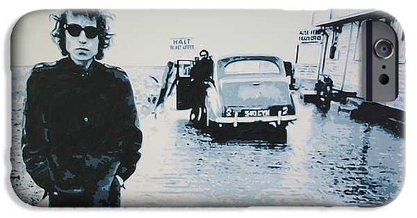 Civil Rights Paintings iPhone Cases - No Direction Home iPhone Case by Luis Ludzska