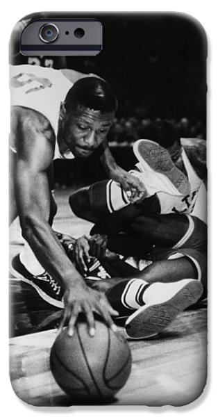 Boston Celtics iPhone Cases - Bill Russell (1934- ) iPhone Case by Granger