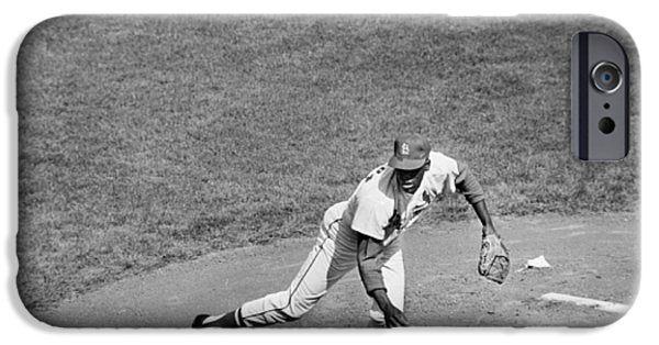 Mounds iPhone Cases - Bob Gibson (1935- ) iPhone Case by Granger