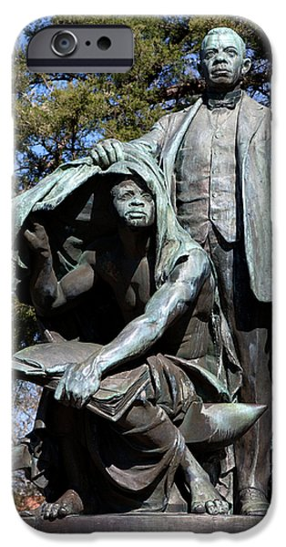 Reformer iPhone Cases - Booker T Washington iPhone Case by Granger