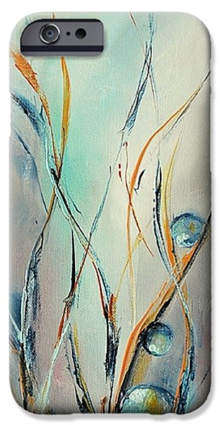 Nature Abstracts iPhone Cases - Essor iPhone Case by Francoise Dugourd-Caput
