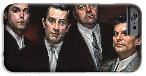Film iPhone Cases - Goodfellas iPhone Case by Ylli Haruni
