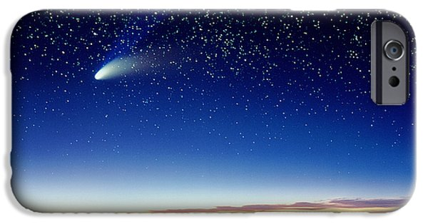 Comets iPhone Cases - Mauna Kea Telescopes iPhone Case by D Nunuk and Photo Researchers