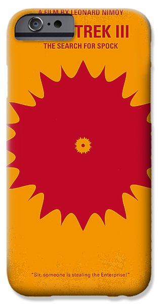 Stars iPhone Cases - No083 My Star Trek 3 minimal movie poster iPhone Case by Chungkong Art