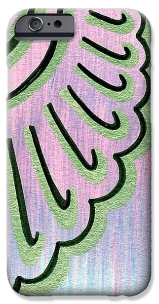 Sun Rays Mixed Media iPhone Cases - Original ACEO iPhone Case by Mandy Shupp
