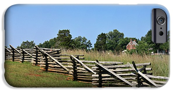 Nation iPhone Cases - View of Clover Hill Tavern Appomattox Court House Virginia iPhone Case by Teresa Mucha