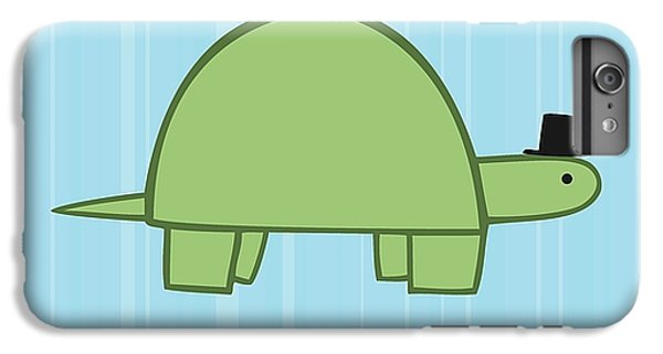Nursery Art Boy Turtle IPhone 6 Plus Case by Christy Beckwith