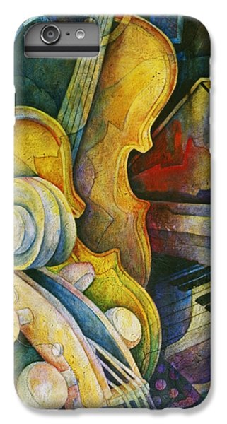 Jazzy Cello IPhone 6s Plus Case by Susanne Clark