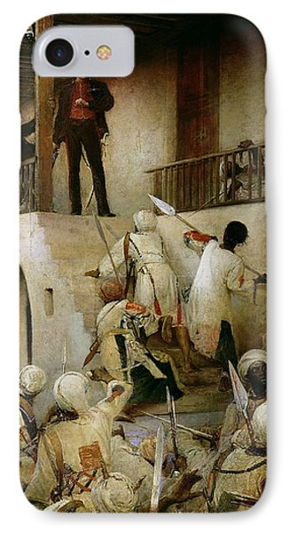 General Gordon's Last Stand IPhone Case by George William Joy