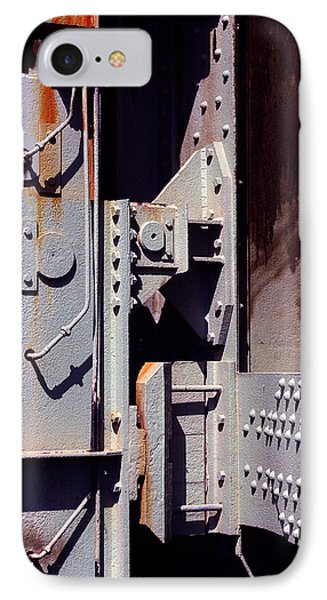 Industrial Background IPhone Case by Carlos Caetano