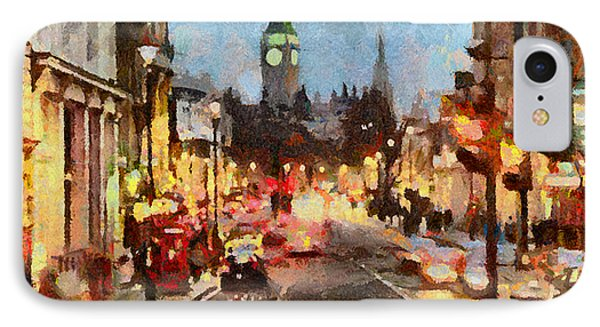 London Scene IPhone Case by Anthony Caruso