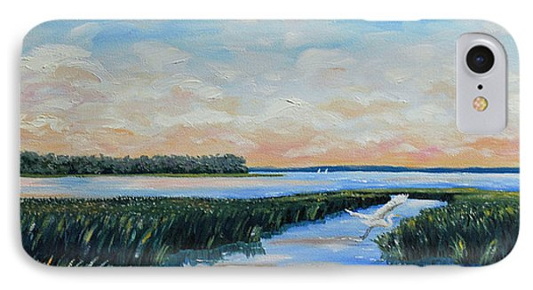 On The May River Phone Case by Stanton Allaben