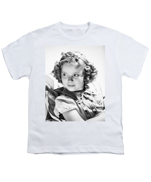 Shirley Temple (1928-  ) Youth T-Shirt by Granger