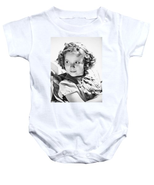 Shirley Temple (1928-  ) Baby Onesie by Granger