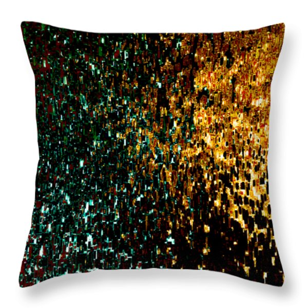 Jesus Christ The Author And Finisher Of Our Faith Throw Pillow by Mark Lawrence