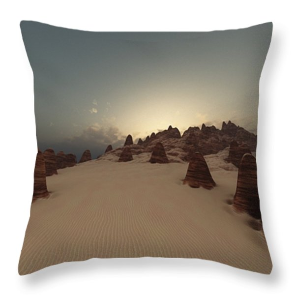 Monumental Throw Pillow by Julie Grace