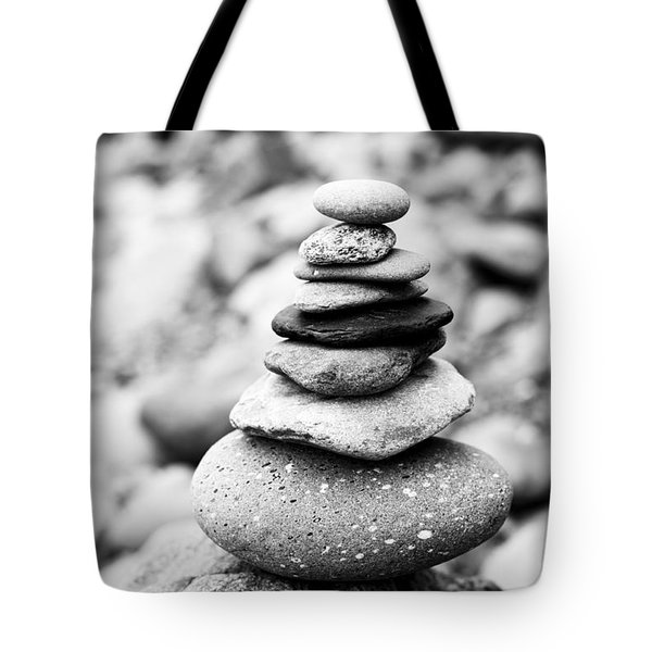 Stack Tote Bag by Anne Gilbert