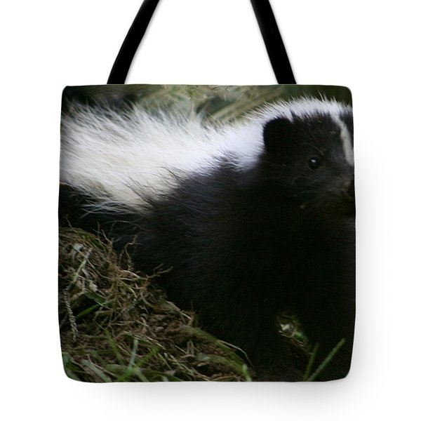 Here Kitty Kitty Tote Bag by Barbara S Nickerson