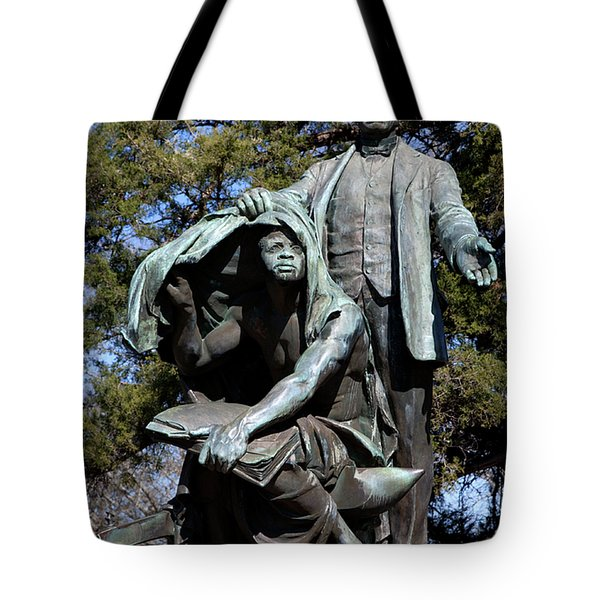 Booker T Washington Tote Bag by Granger