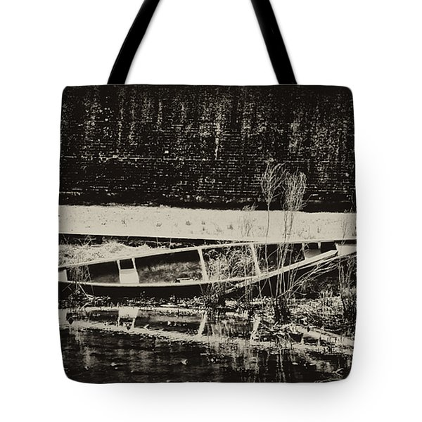 Canoe Tote Bag by Bill Cannon