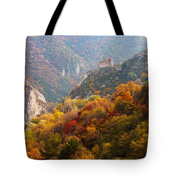 King's Fortress Tote Bag by Evgeni Dinev