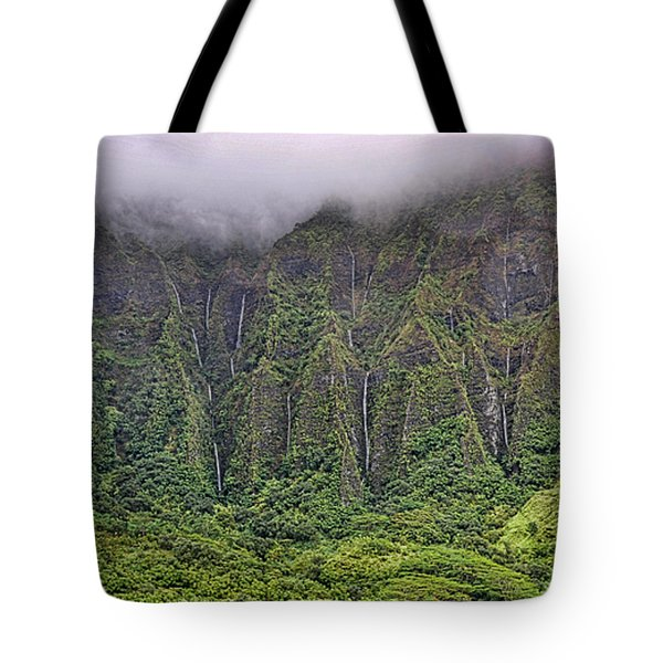 Ko'olau Waterfalls Tote Bag by Dan McManus