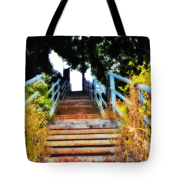Manayunk Steps Tote Bag by Bill Cannon