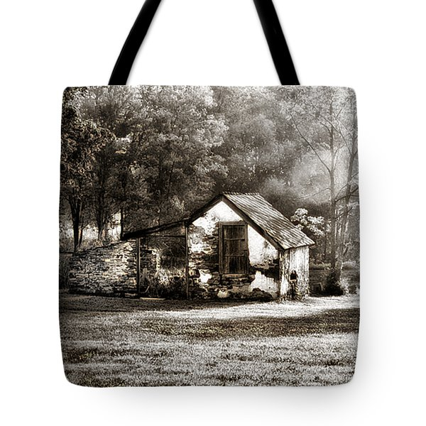 Narcissa Road Springhouse Tote Bag by Bill Cannon