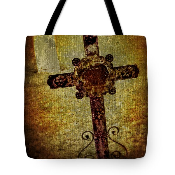 Old Cross Tote Bag by Perry Webster