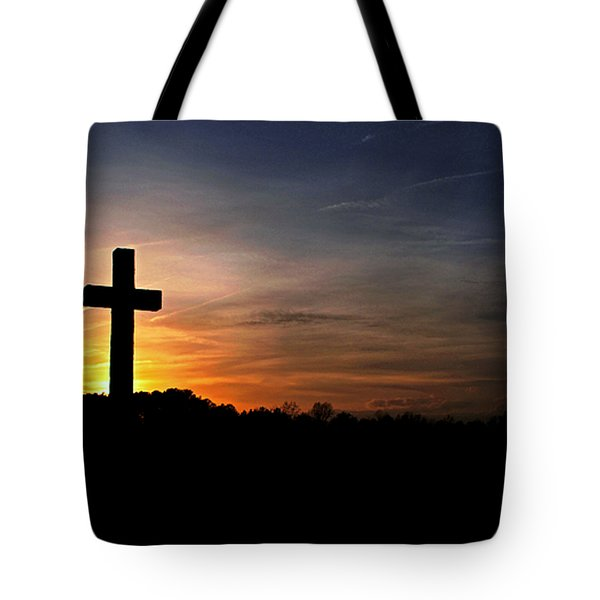 The Heavens Declare The Glory Of God Tote Bag by Benanne Stiens