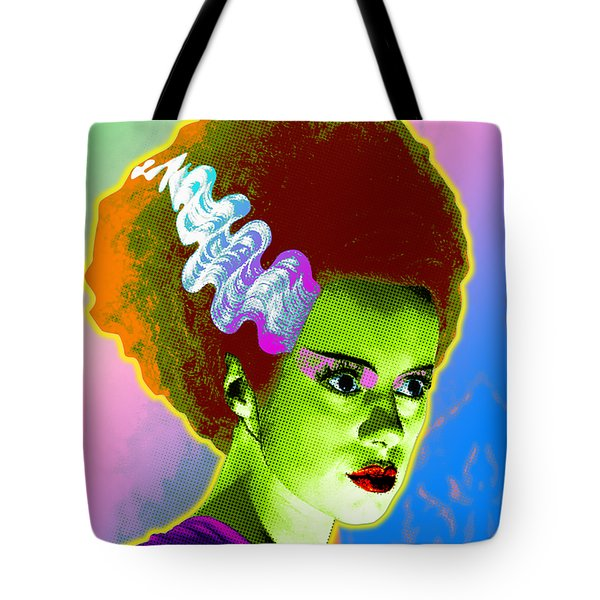 The Monster's Bride Tote Bag by Gary Grayson