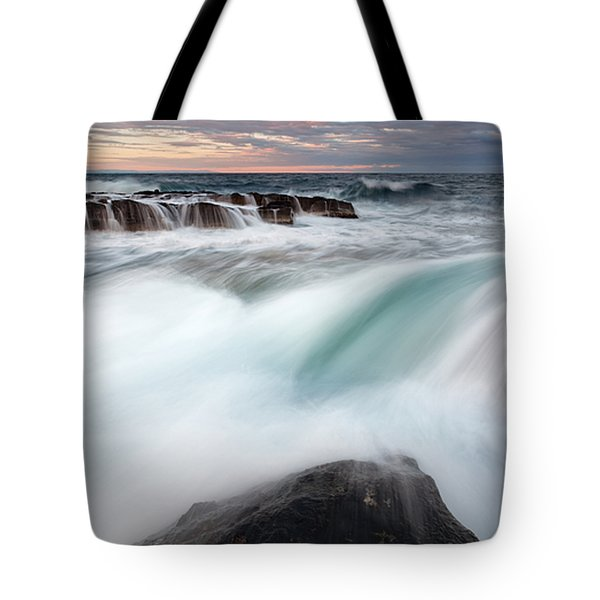 The Wave Tote Bag by Evgeni Dinev