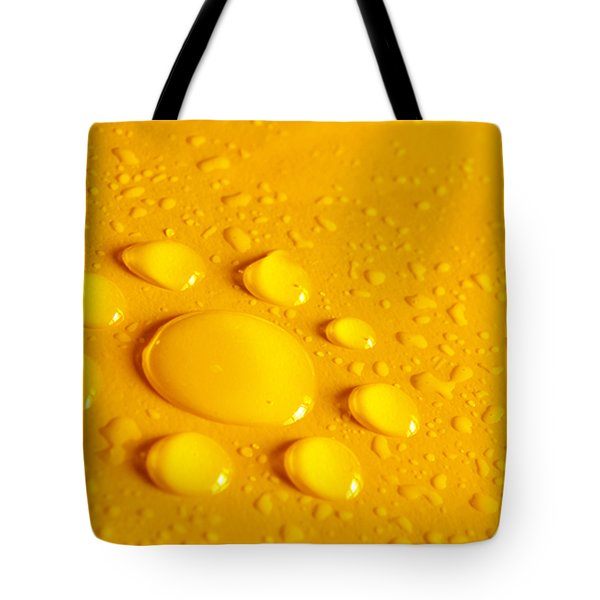 Water Flower Tote Bag by Carlos Caetano