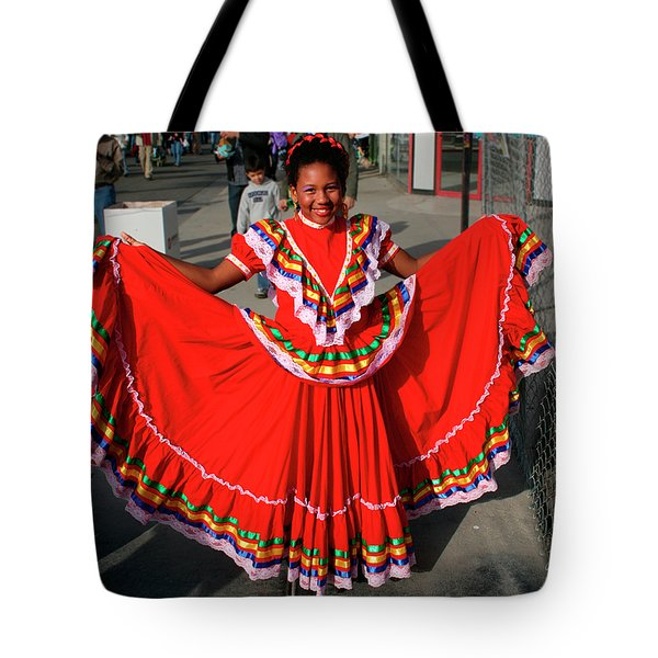 Young Dancer Tote Bag by William Dey