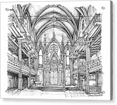 Angel Orensanz Venue In Nyc Acrylic Print by Building  Art