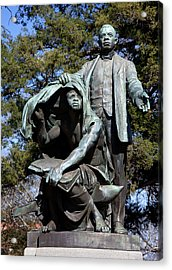 Booker T Washington Acrylic Print by Granger