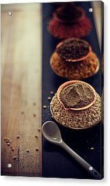Indian Spice Acrylic Print by Shovonakar