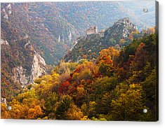 King's Fortress Acrylic Print by Evgeni Dinev