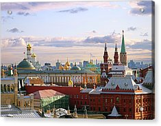 Kremlin, Moscow, Russia Acrylic Print by Lars Ruecker