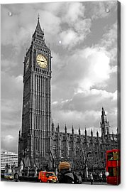 Urban Acrylic Print featuring the photograph London by Roberto Alamino
