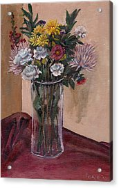 Mother's Day Bouquet Acrylic Print by Elizabeth Lane