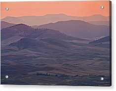 Palouse Morning From Steptoe Butte Acrylic Print by Donald E. Hall