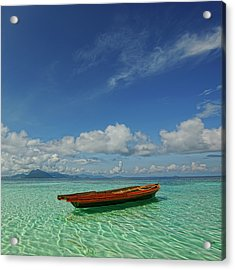 Sabah - Semporna Acrylic Print by By Toonman