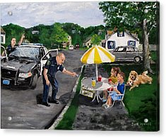 The Lemonade Stand Acrylic Print by Jack Skinner