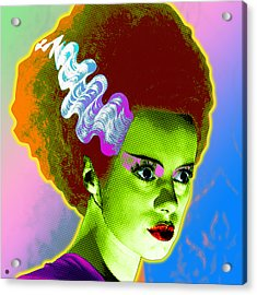 The Monster's Bride Acrylic Print by Gary Grayson