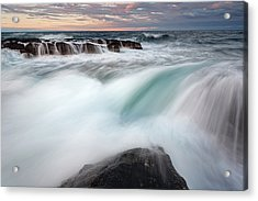 The Wave Acrylic Print by Evgeni Dinev
