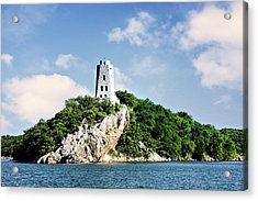 Tucker Tower 2 Acrylic Print by Lana Trussell