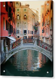 Venice Visions Acrylic Print by Eggers Photography